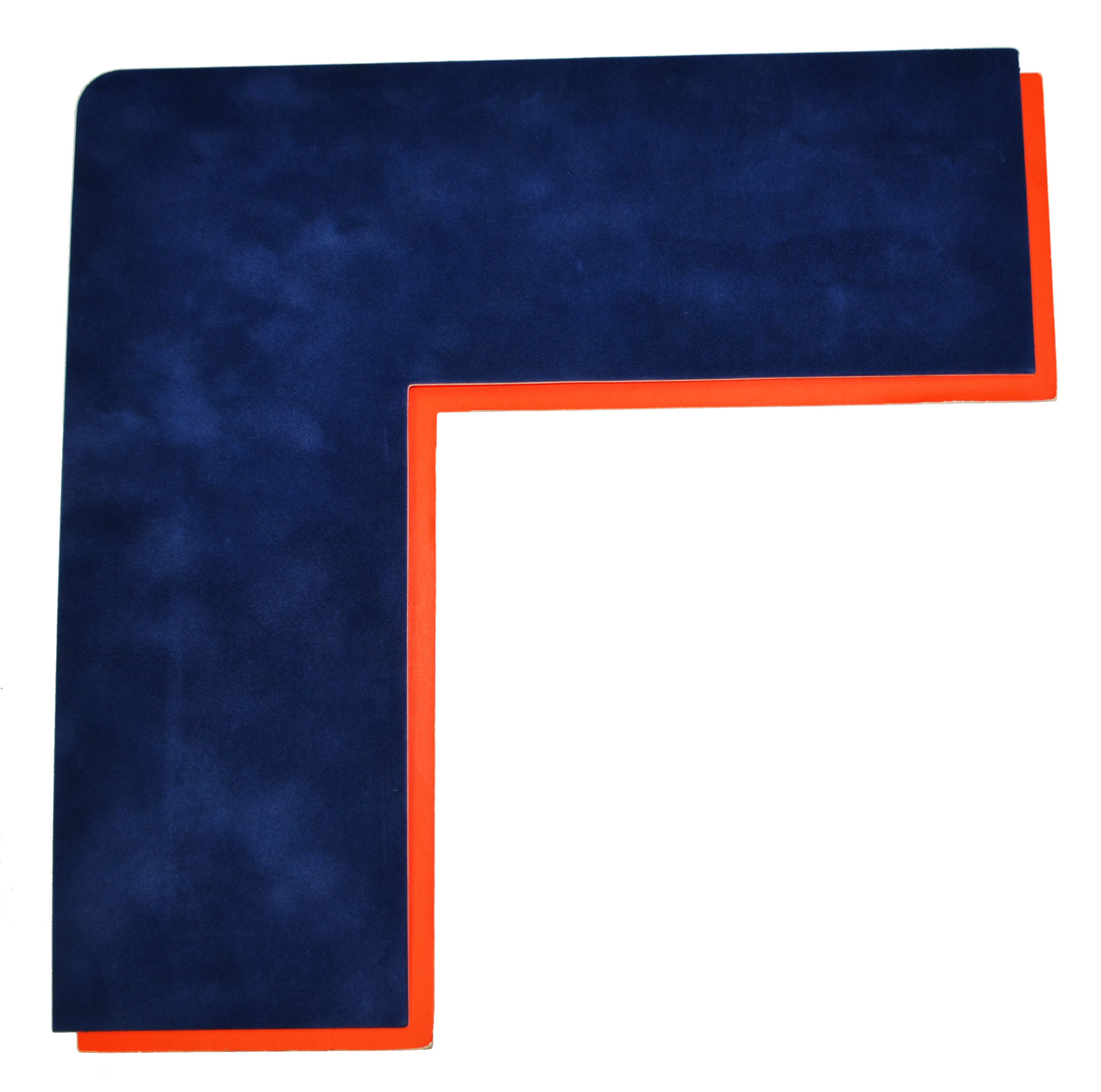 Blue and Orange Mat