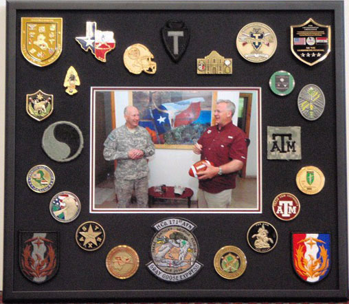 Shadowbox with Pins